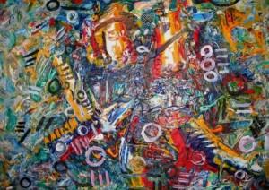 Chidi Kwubiri's Art Work