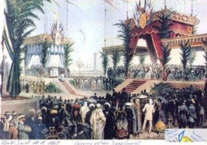 Suez Canal opening ceremony 1869