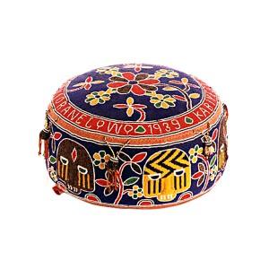 Yoruba Oba's Beaded Cushion