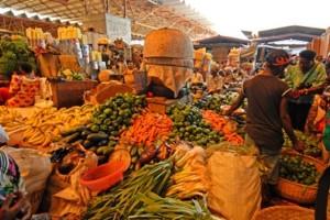 Market in Burundi