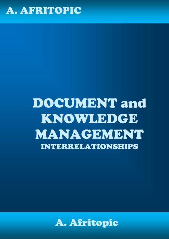 Document and Knowledge Management Interrelationships
