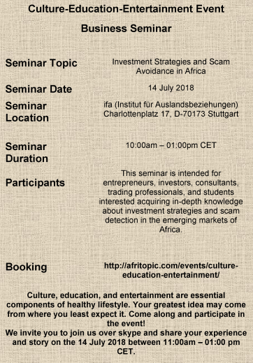Investment Strategies and Scam Avoidance in Africa
